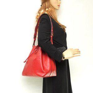 Auth Louis Vuitton Noe Shoulder Bag Epi #7993L24